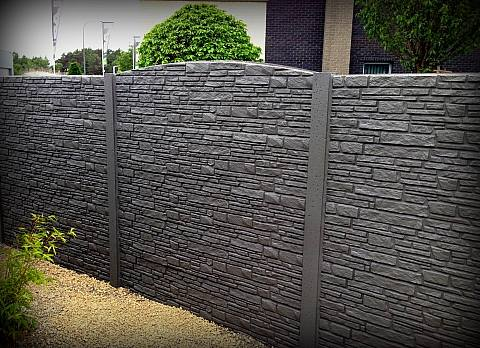 Pose de clôture - DL Jardin-Mons-clôture en bton-cloture ...